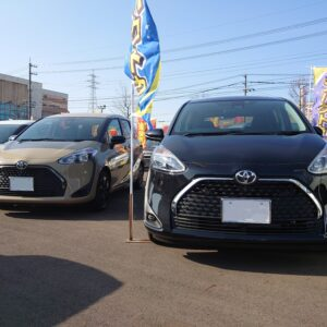 【開発店】トヨタ シエンタ入荷しました!【福井でコンパクトカー買うならカーボ】